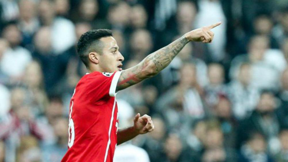 Bayern Munich cruise into Champions League quarterfinals over Besiktas