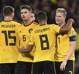 Belgium, Netherlands hit four as Germany edge closer to Euros