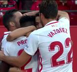 Promes Breaks The Deadlock for Sevilla at Home to Rayo