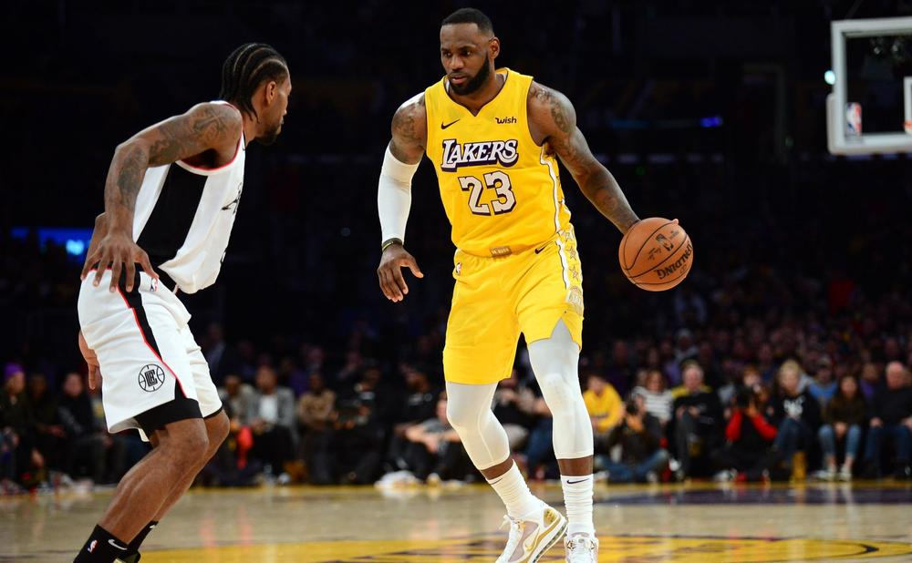Leonard Leads Clippers Over Lakers 76ers Impress With Win