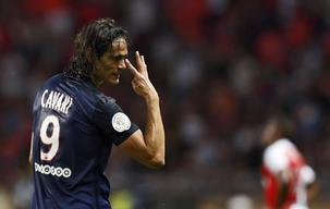 Cavani helps PSG to victory and sucess for Saint Etienne
