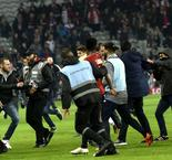 Lille players targeted by fan fury