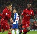 Liverpool 2 Porto 0: Keita and Firmino give Reds first-leg advantage