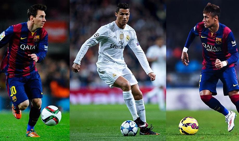 Lionel Messi, Cristiano Ronaldo and Neymar nominated for Ballon d'Or
