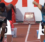 Andre De Grasse Sprints to 100m Victory in Oslo