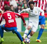 Sporting Gijon 2 Real Madrid 3