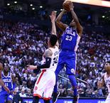 76ers hold off Raptors, Nuggets top Trail Blazers in Game 1