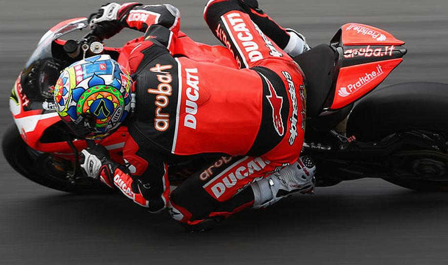 SBK: Chaz Davies Wins Race 1 at Laguna Seca
