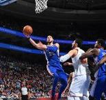 NBA : Les 76ers intraitables face aux Knicks