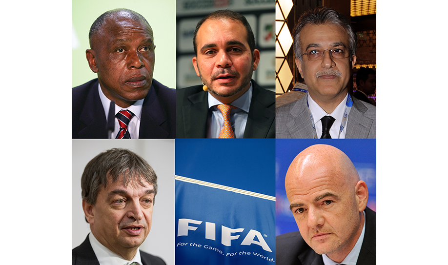 FIFA presidency: Five candidates confirmed