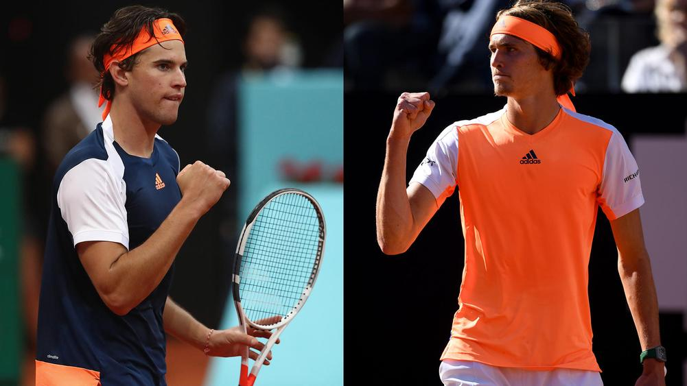 Thiem, Zverev aiming to upset old guard at French Open