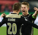 De Ligt: Ajax 'Not Satisfied' Yet After Champions League Quarterfinal Win Over Juventus