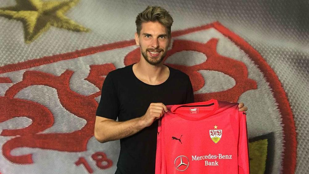 Goalkeeper Ron-Robert Zieler joins Stuttgart from Leicester