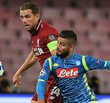 Napoli 1 Liverpool 0: Insigne secures deserved win at the end