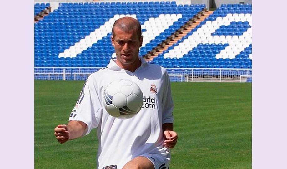 8. Zinedine Zidane (73,50 million euros)