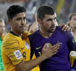 Australia 0 Uzbekistan 0 (aet, 4-2 on penalties): Ryan heroics see holders hobble onwards