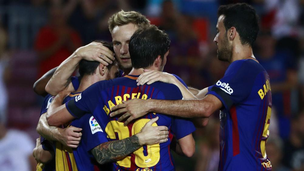 Barca 'not afraid' as attacks overshadow La Liga start