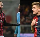 Higuain and Piatek on the move on busy day for Milan