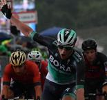 Bennett singing in the rain after securing second Giro stage