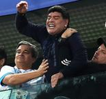 Maradona receives treatment after Argentina win