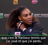 "Indian Wells - Serena : ""J'ai beaucoup de choses à améliorer"""