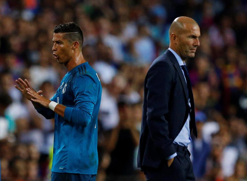 Zinedine Zidane: We're disappointed for Ronaldo over Liga goal drought