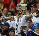 Iran fans treat Portugal to midnight street party