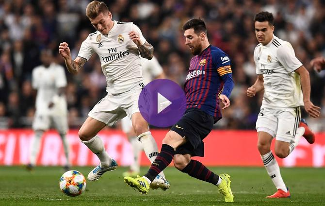 Getafe Real Valladolid Live Score Video Stream And H2h: Real Madrid Vs Barcelona