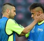 Alba sympthasises with Neymar over Copa treatment