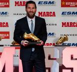 Messi 'never imagined' his success after winning record fifth Golden Shoe