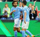 One of the best goals I've ever seen - Pirlo, Vieira hail Villa wonderstrike