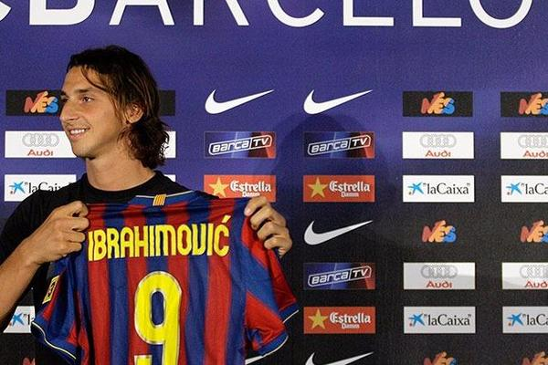 9. Zlatan Ibrahimovic (69,50 million euros)