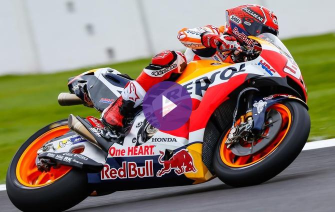 Marquez Extends Pole Run With Silverstone Stunner