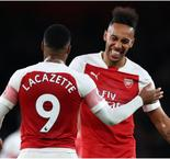 Lacazette and Aubameyang striving for 'perfect' partnership