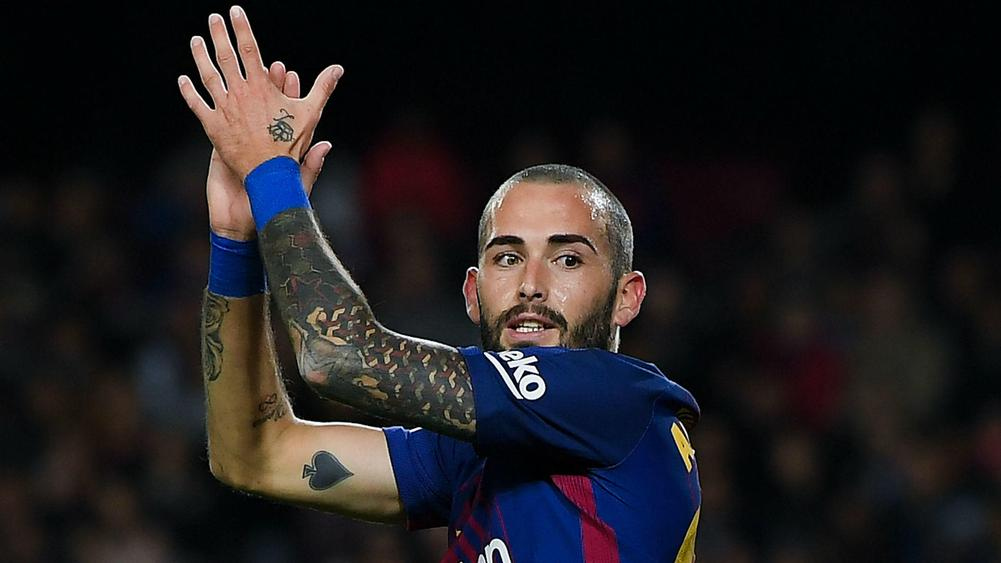 Sevilla re-sign Aleix Vidal from Barcelona