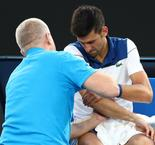 It's not great - Djokovic to assess options on injured elbow