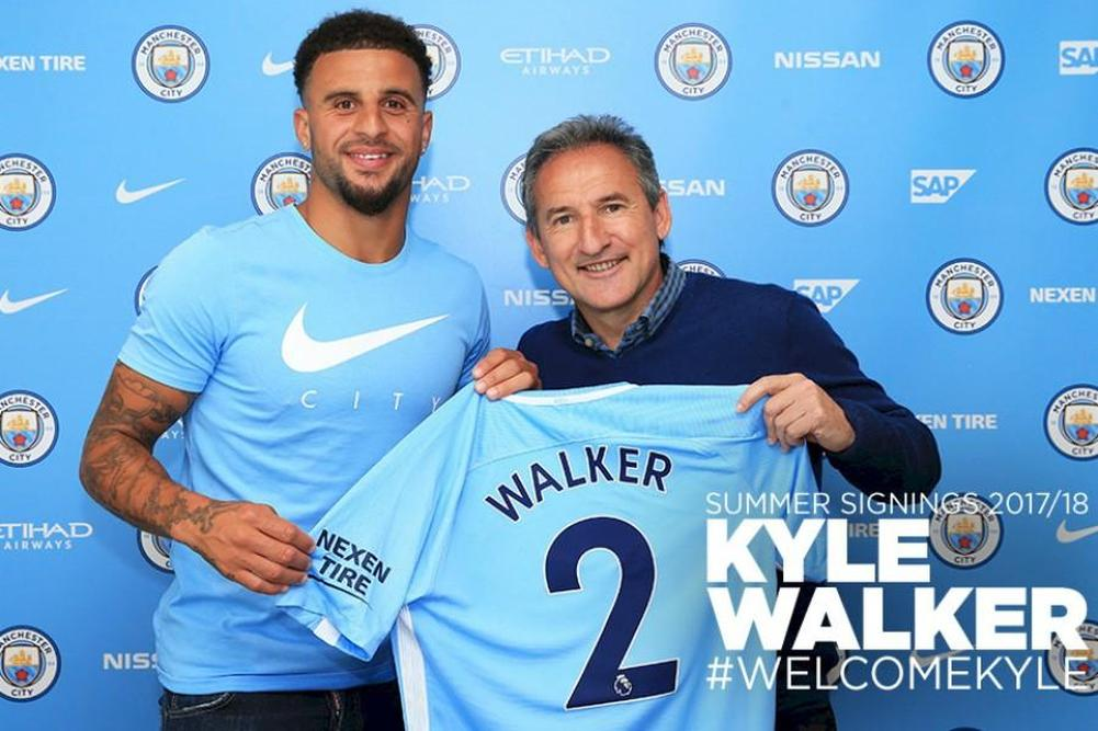 Walker pour 5 ans ! (officiel) — Man City