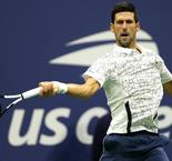 Djokovic dazzles against Nishikori to set up Del Potro final