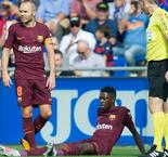 Stress of Barca move may have influenced injury, Dembele's doctor claims