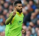 Aguero declares himself fit to face Leicester City