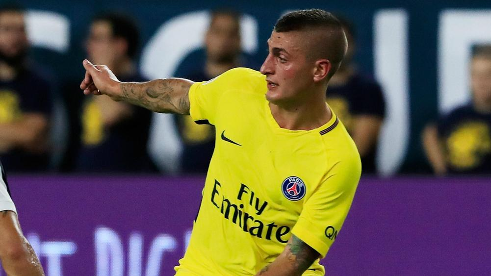 Raiola: Verratti will stay at PSG... for now