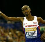 Farah revels in early birthday present after smashing record