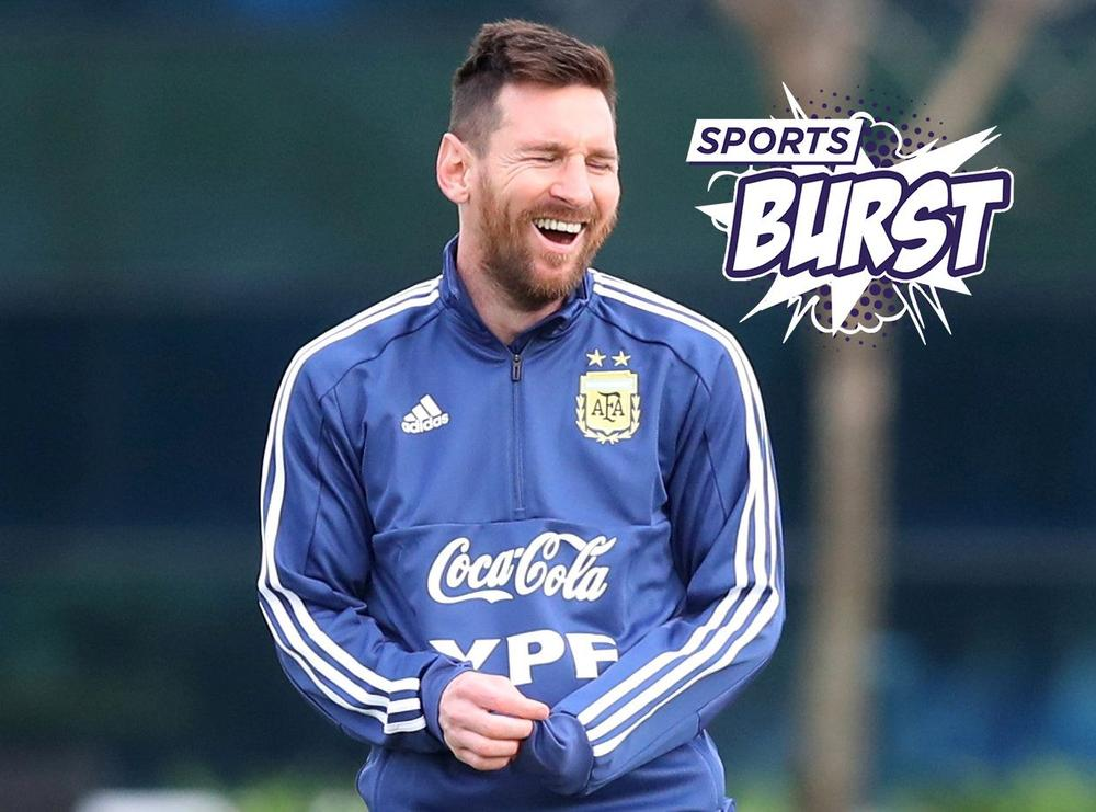 473167b59d6 Sports Burst - Messi's New Sorry Summer Begins
