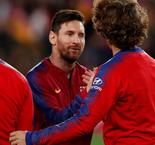 Griezmann thought about Messi in bed