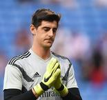 Courtois suffers hip injury