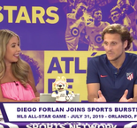 Sports Burst Live - Forlan Talks MLS All-Star Game, Messi and More