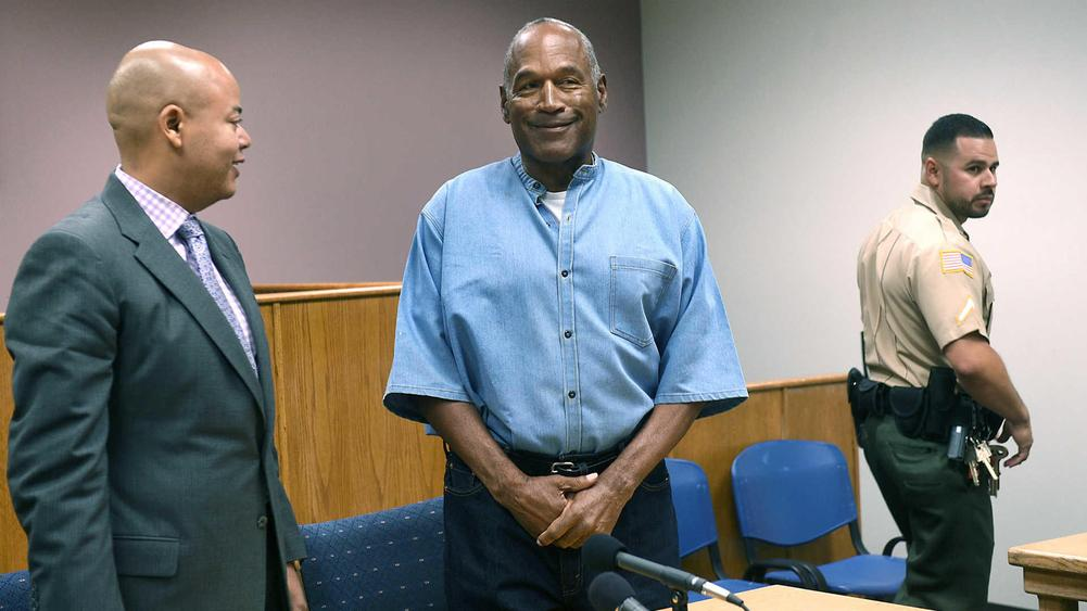 JUST IN: OJ Simpson Granted Parole, Could Be Released October 1