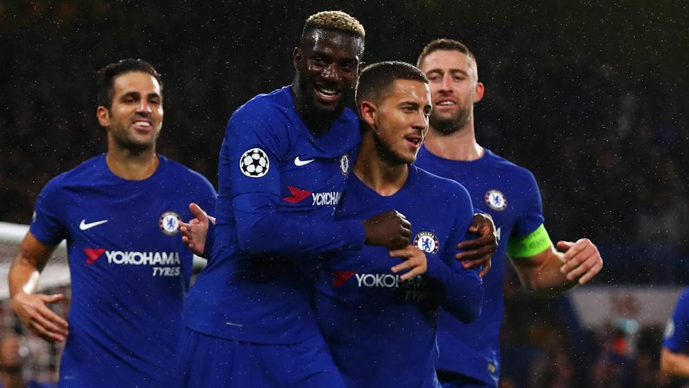Antonio Conte provides Eden Hazard, Tiemoue Bakayoko and Danny Drinkwater updates