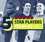 5 Star Players Ligue 1 Pekan Ke-24