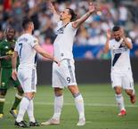 Ibrahimovic Inspires Galaxy With Brace, Rooney Scores Stunner